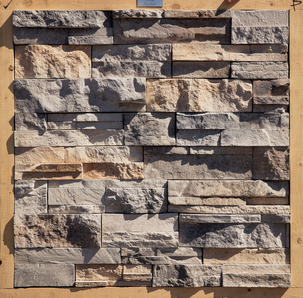 Dutch Quality Stone Drystack Sienna Flat Manufactured