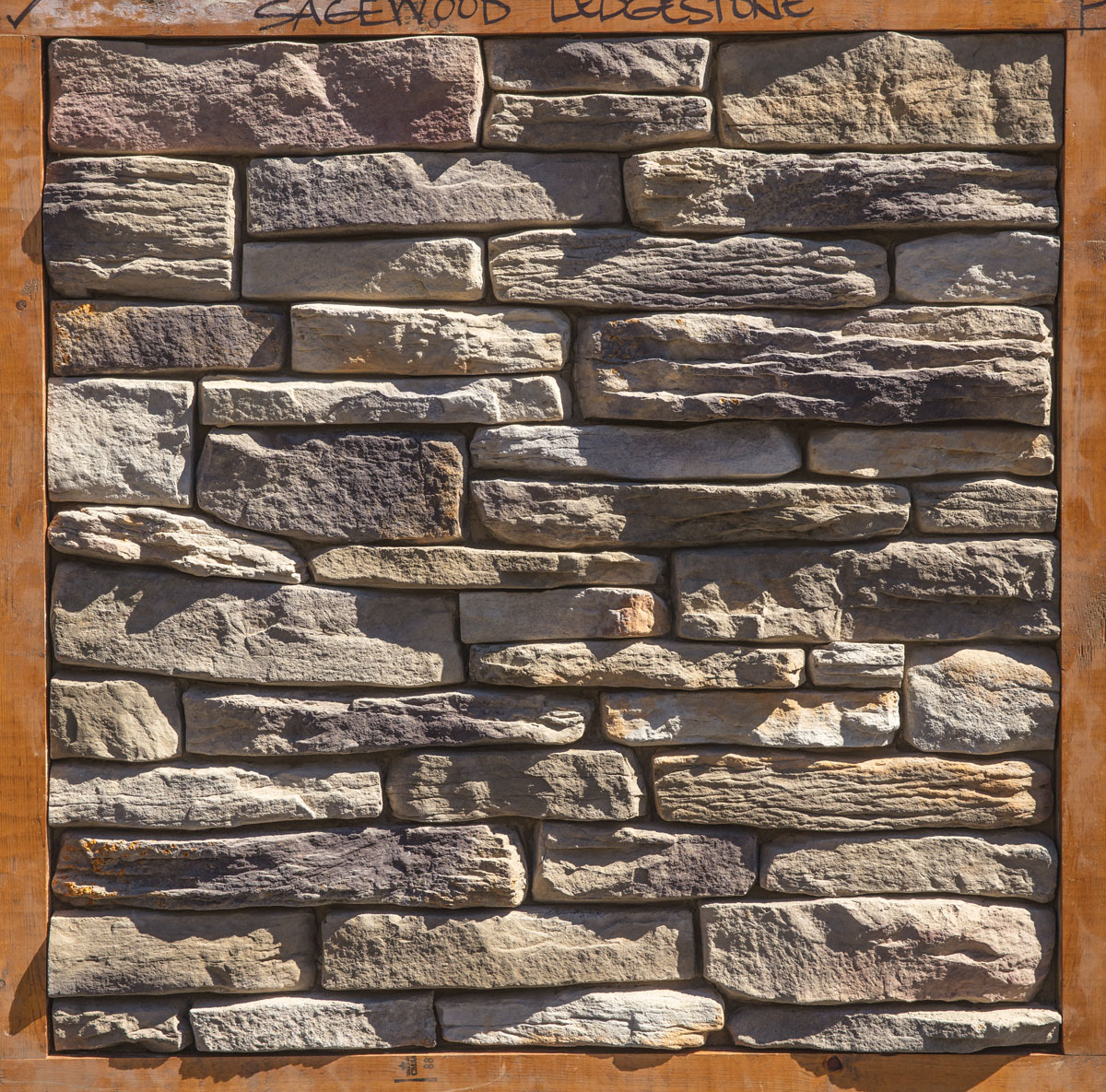 Dutch quality stone ledgestone sagewood corner for Sage wood