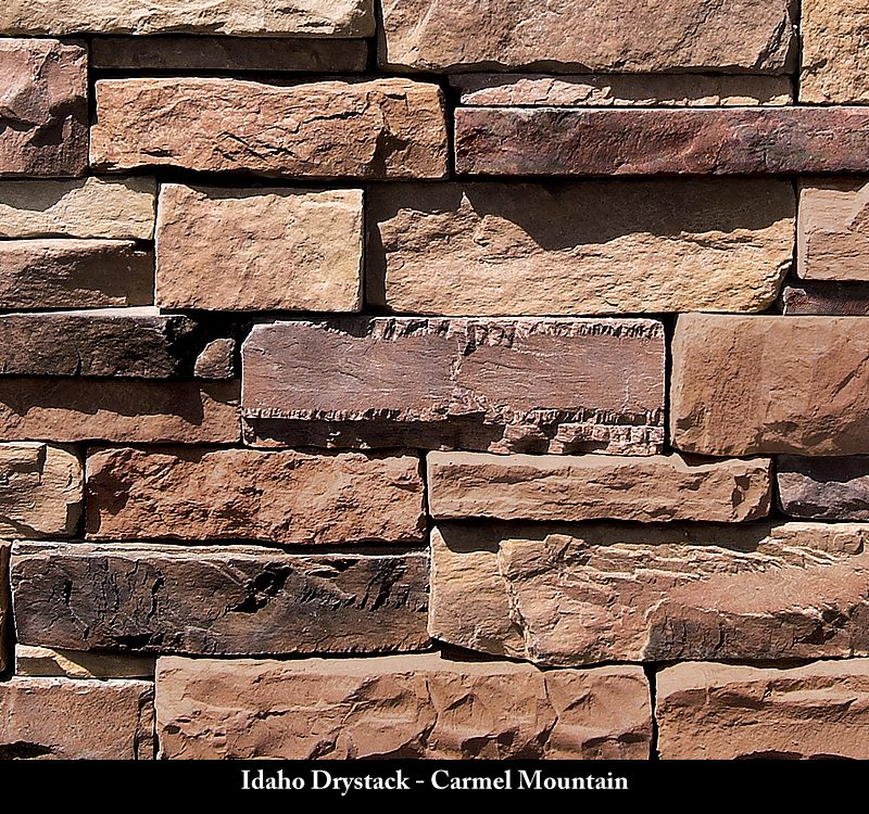Idaho Drystack Stone Veneer Carmel Mountain