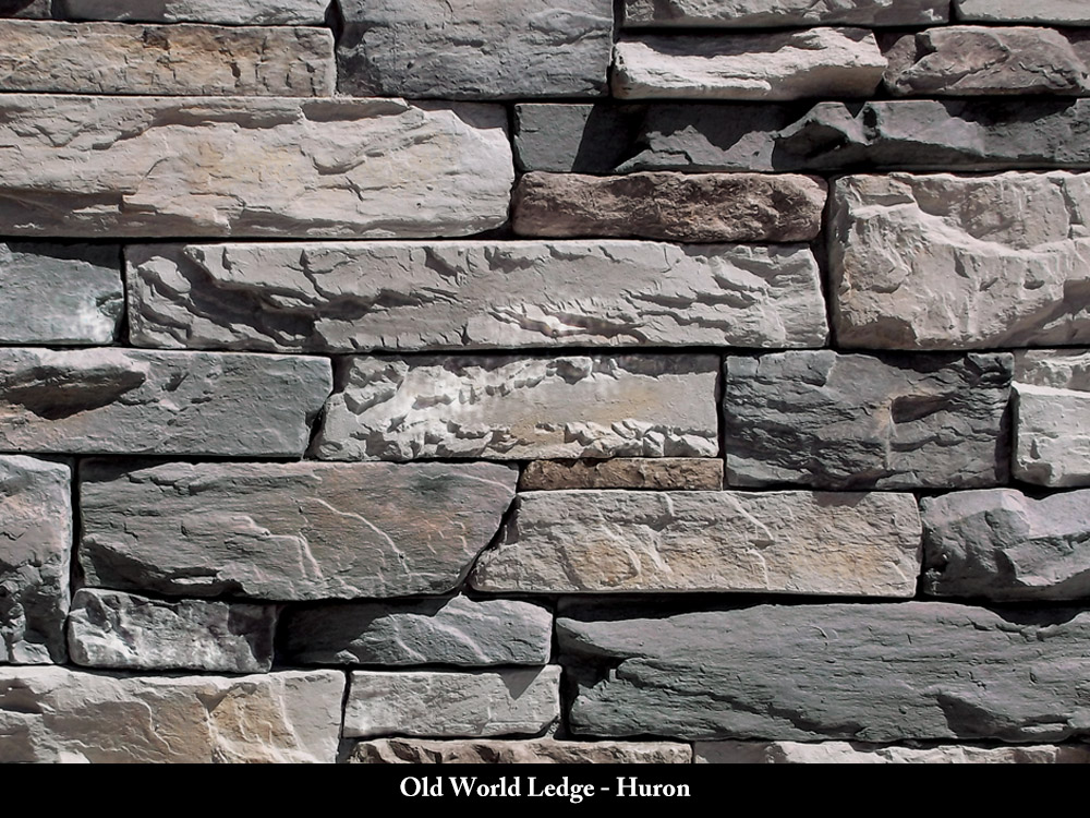 Old World Ledge Stone Veneer Huron