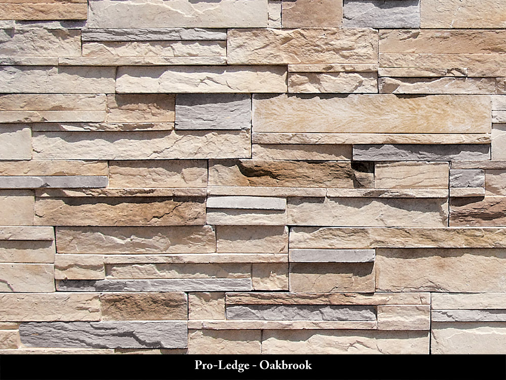 Pro-Ledge Manufactured Stone Oakbrook